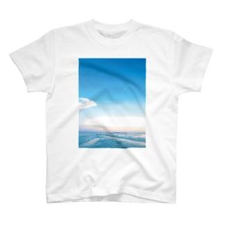 バリ わだつみの黄昏 T-shirts