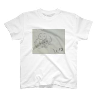 貞奴(さだやっこ)ネコ T-shirts