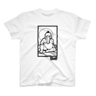 極道ハシビロコウ02 T-shirts