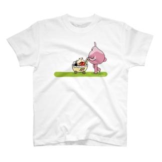 ぱつひことハム(初回特盛) T-shirts