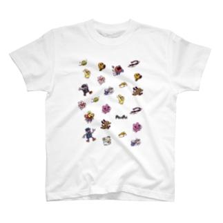 PostPetは走るよどこまでも T-shirts
