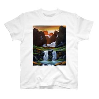 桂林の夕暮れ T-shirts