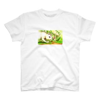 エイミーと猫のお父さん01 T-shirts