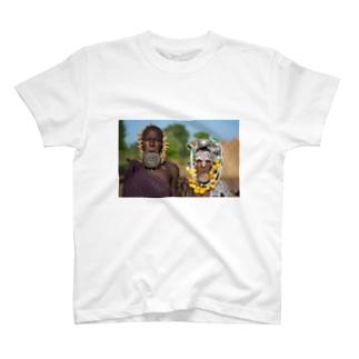 ムルシ族 T-shirts