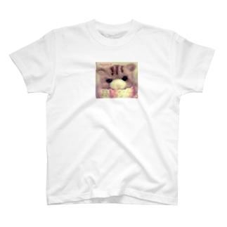 ねこぽん(マフラー) T-shirts