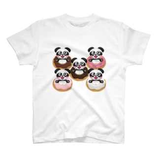 ドーナツパンダ☆ T-shirts