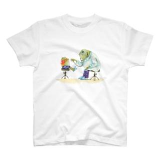 カエル先生 T-shirts