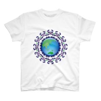 エコロジー☆パンダちゃん T-shirts