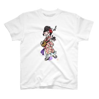 イラスト⑥ T-shirts