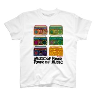 ラジカセ T-shirts