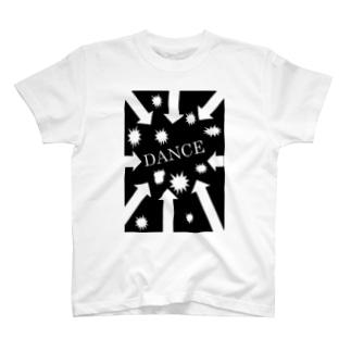 DANCEロゴ T-shirts