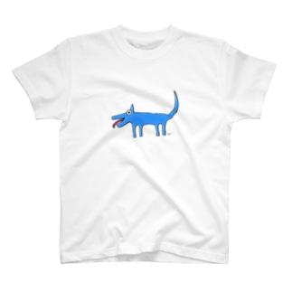 Inuuu - mysterious dog T-shirts