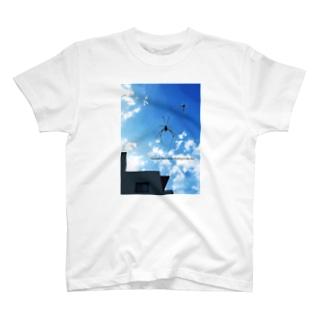 クモと雲 T-shirts