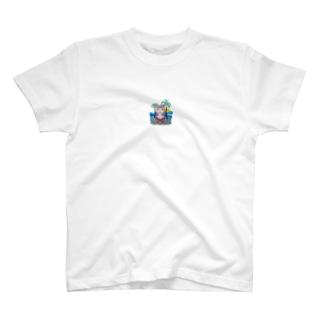 夏 女の子 T-shirts