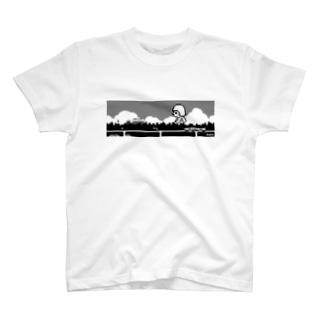 沖縄の正座ちゃん T-shirts
