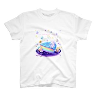Rainbow cake T-shirts