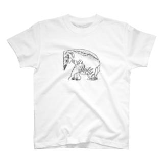 インドゾウ T-shirts