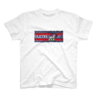 ducon-ai_ジーンズテクスチャ T-shirts