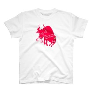 アンドアイデザイン TCカラーセラピーレッド T-shirts