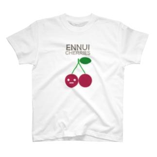 ENNUI CHERRIES T-shirts