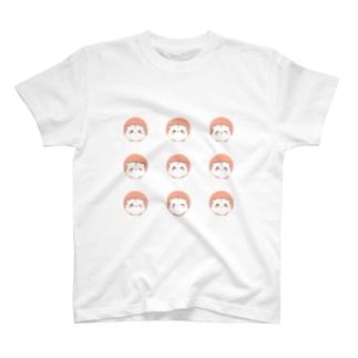 ドットとハムスター増量 T-shirts