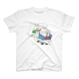 お買い物 T-shirts