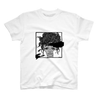 生首Tシャツ T-shirts