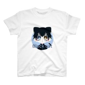 黒猫くん T-shirts