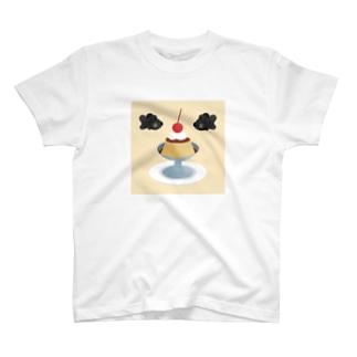DESSERT : プリン Tシャツ T-shirts