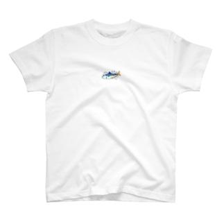 ピッチピチな魚 T-shirts