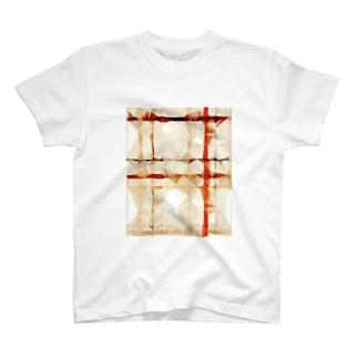 ポリゴンチェック T-Shirt