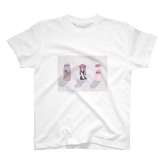 おやつの時間のcalcium T-shirts