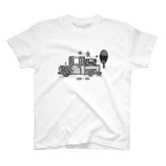 車のイラスト アメリカントラック T-shirts