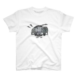 車のイラスト 救急車 T-shirts