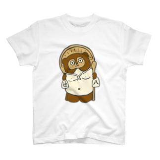 タヌキ③ T-shirts