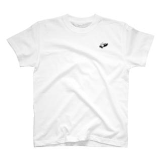 かまってパピー柴犬(ハンコ風)  T-shirts