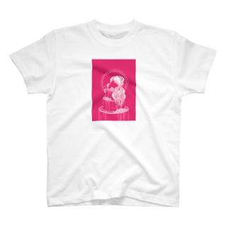 薔薇色 T-shirts