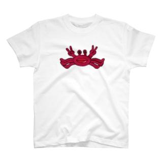 人面蟹 T-shirts