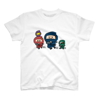 UMAファミリー忍者 T-shirts