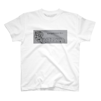 超古代生物アンモナイトネコ T-shirts