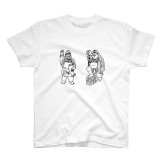 じうの丸仙の神様Tシャツ T-shirts