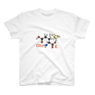 みずしまワークスのアミノ酸ぴよ グルタミン酸 T-shirts