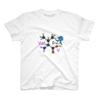 アミノ酸ぴよ バリン T-shirts