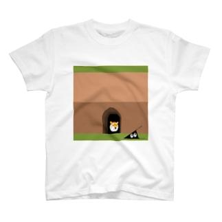 虎穴に入るスリスリ君 T-shirts