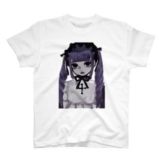 紫 T-shirts