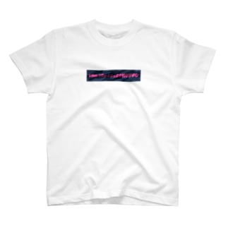 国士の迷彩(紺×桃) T-shirts