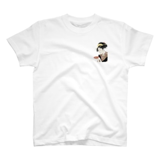 vestの浮世絵kush T-Shirt