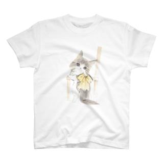 みかえりねこ T-shirts