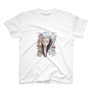 濃霧 T-shirts