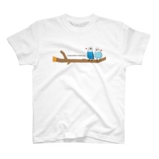 ポコそら止まり木 T-shirts